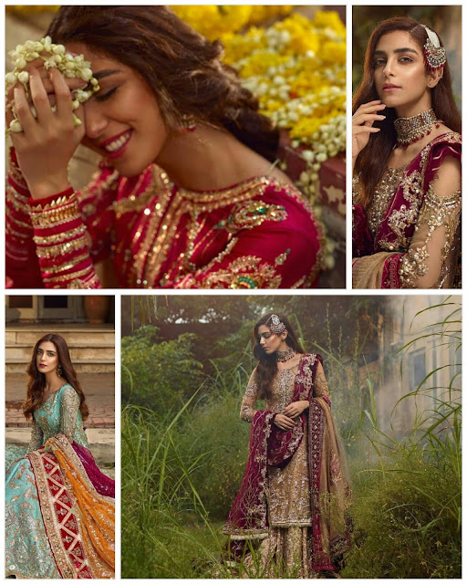 Awesome Bridal Shoot of Maya Ali