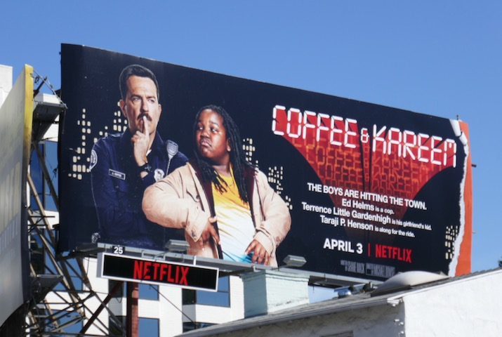 Coffee & Kareem 48 Hrs spoof billboard