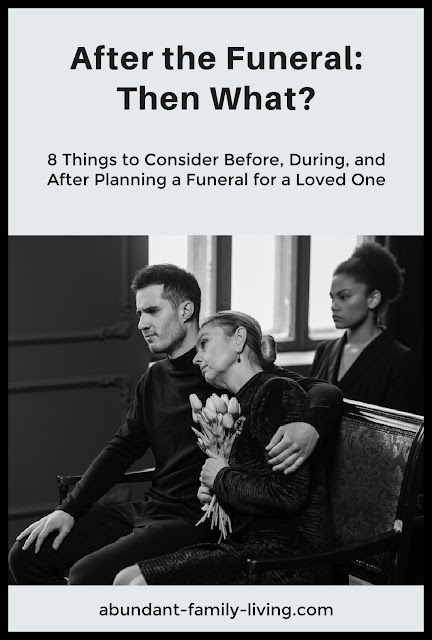 After A Funeral: What's Next?
