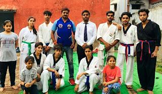 कराटे खिलाड़ियों का हुआ बेल्ट प्रमोशन टेस्ट | #NayaSaberaNetwork