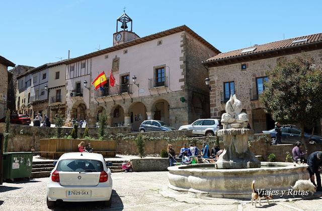 Plaza de España de Atienza