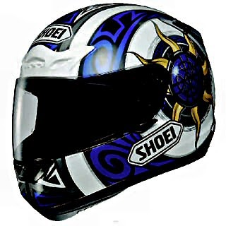 quality motorcycle helmets by Japanese company Shoei