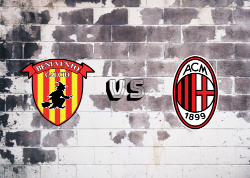Benevento vs Milan  Resumen y Partido Completo