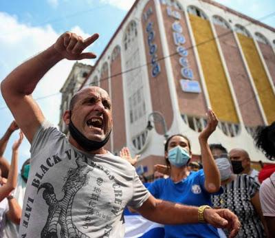 """CUBA URGENTE: A """"REVOLUÇÃO COLORIDA"""" IMPULSIONADA PELO IMPERIALISMO E SUA OMS NO ESTADO OPERÁRIO"""