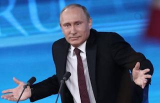Putin und Flüchtlinge