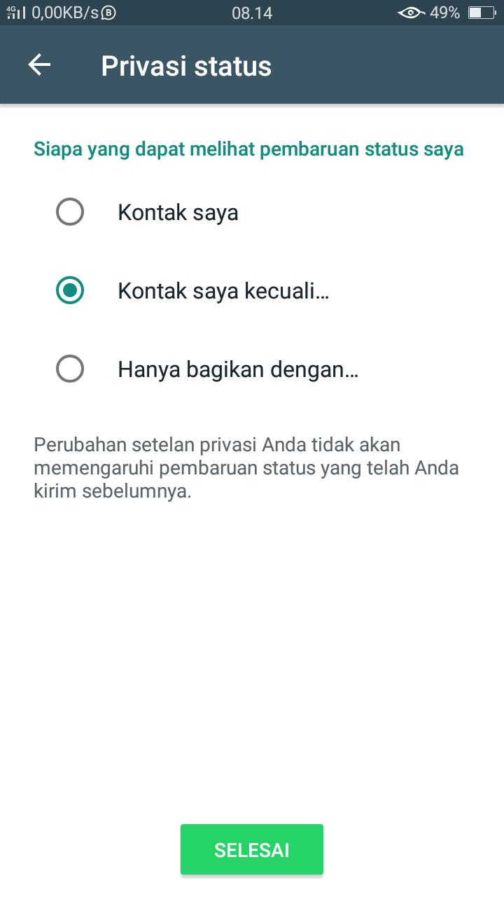 Inilah 4 Cara Menghapus Status Orang Lain Di Whatsapp Terbaru