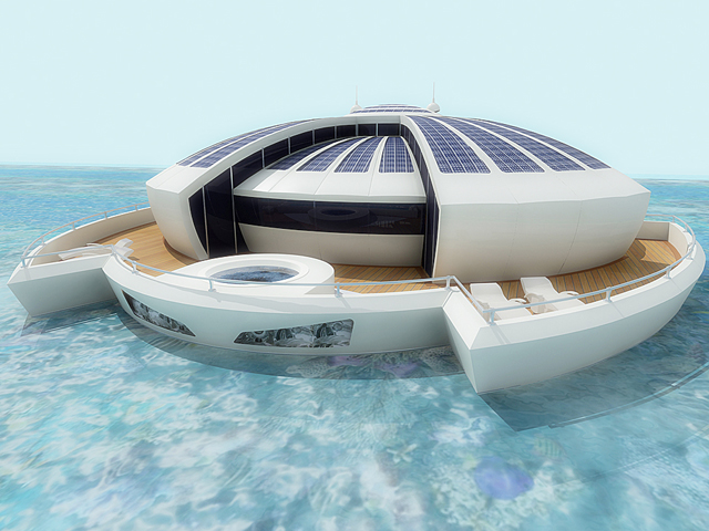 Concept Solar Floating Resort