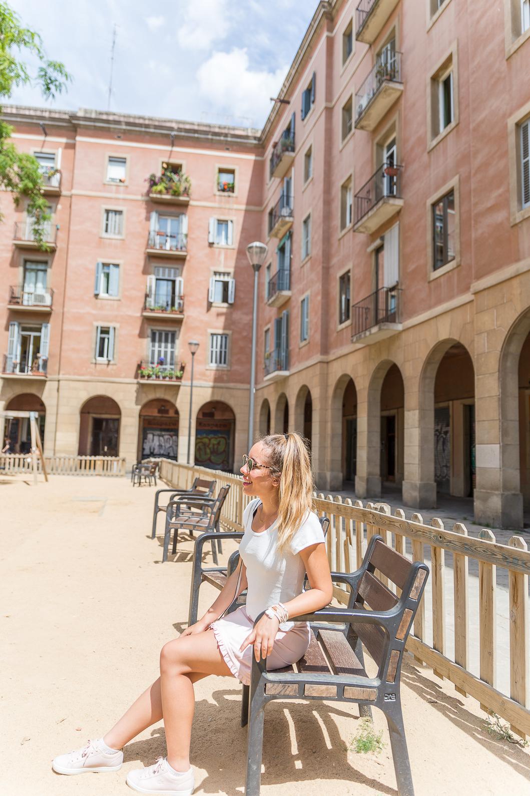 Plaça de Vicenç Martorell Barcelona