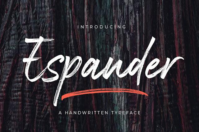 Espander Download Font Free