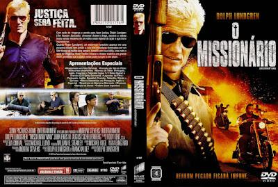 Filme O Missionário DVD Capa