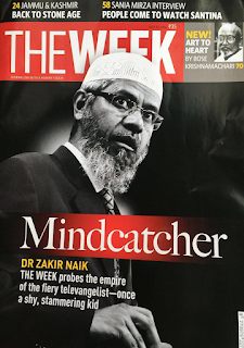 The Week - Zakir Naik Cover Photo - Passionate Writers
