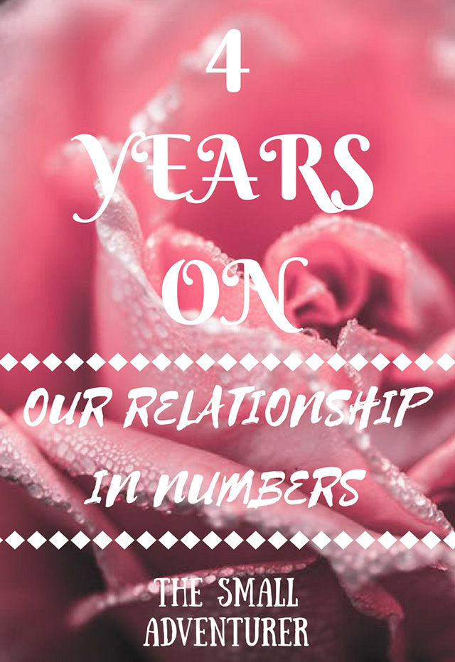 4 Years On: Our Relationship in Numbers