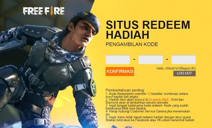 Latest FF redemption code May 30, 2021