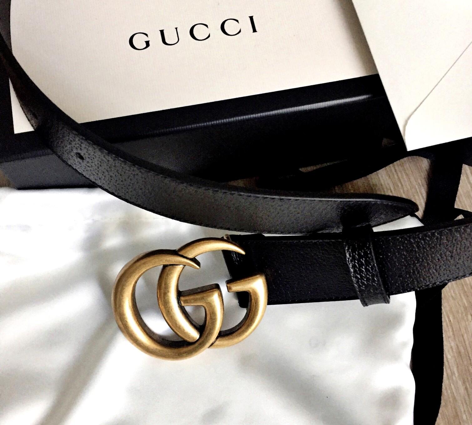 La ceinture Gucci double G, moins chère ! Neuve et authentique of course,  sinon y a pas de scoop hein e7b93548c55