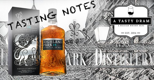 A Tasty Dram tasting notes Highland Park Loyaly of The Wolf 14YO