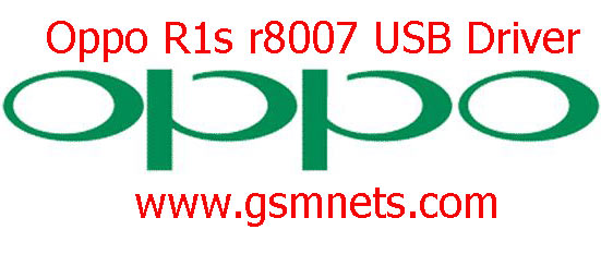 Oppo R1s r8007 USB Driver Download