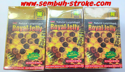 Obat Stroke NASA Natural Royal Jelly
