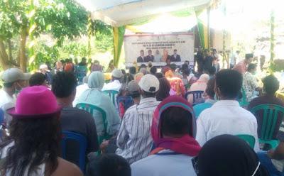 Reses di Jatibaru Timur, Para Anggota Dewan Melewati Jalan Terjal Tak Beraspal