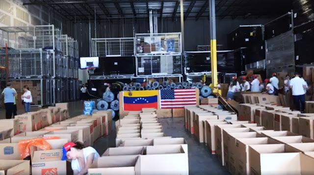 Ayuda humanitaria para Venezuela en Miami