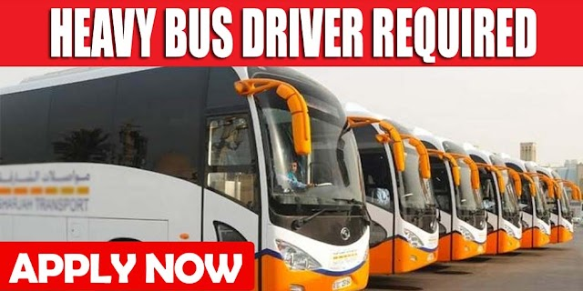 HEAVY BUS DRIVER REQUIRED