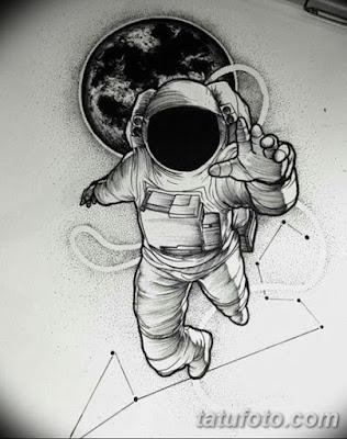 Tatuajes de astronautas - Los mejores diseños
