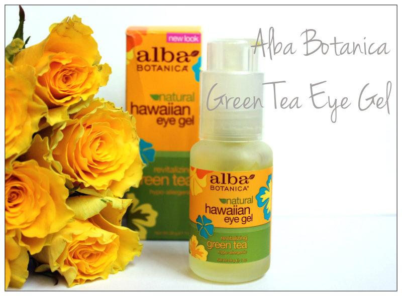 Green Tea Eye Gel от Alba Botanica