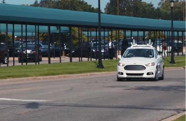 بالفيديو فورد تسجيل براءة اختراع غير مسبوقة لقيادة السيارات!
