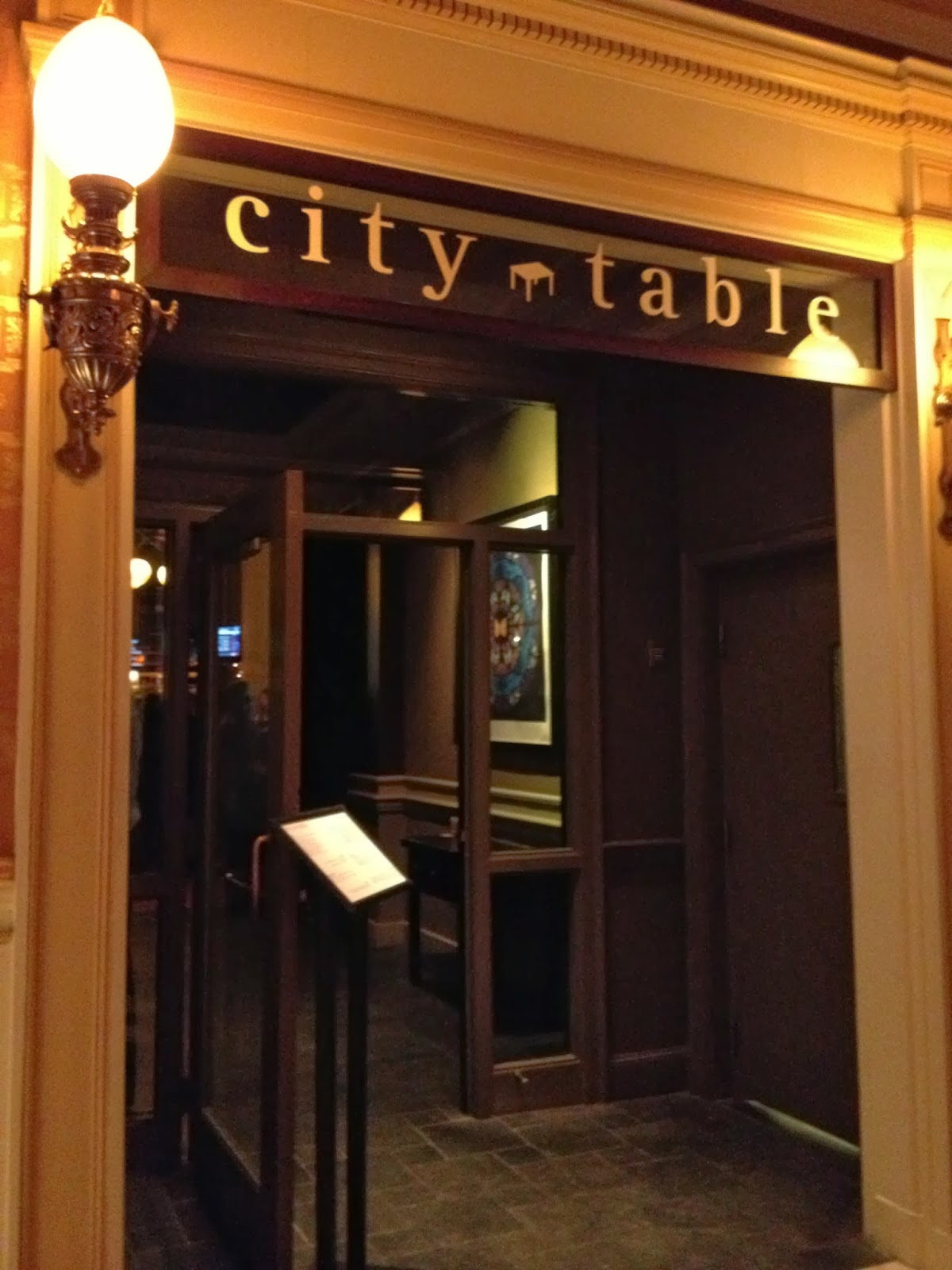 Boston ABC Dining, Letter C: City Table