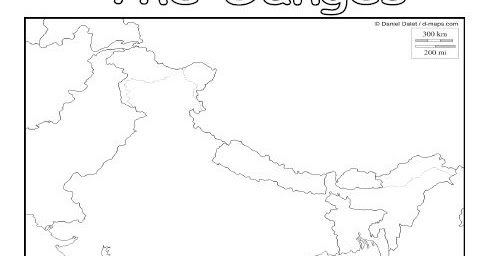 Iman's Home-School: The Ganges River Worksheet