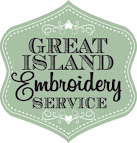Great Island Embroidery Cork