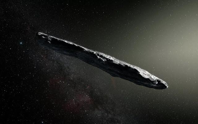 asteróide Oumuamua