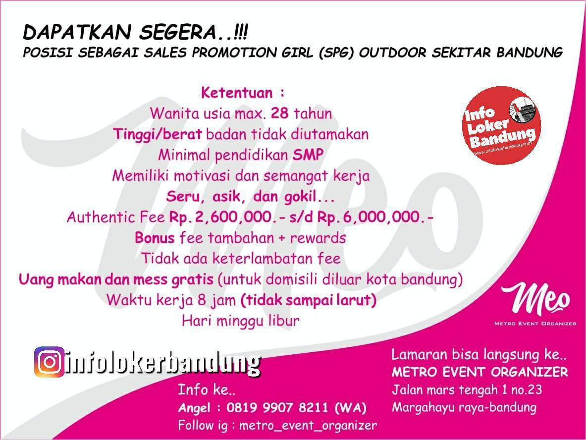 Lowongan Kerja Metro Event Organizer Bandung Juni 2019