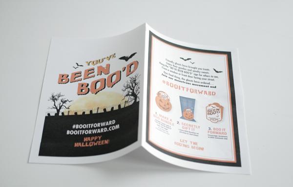 Make a BOO kit and #BOOitForward