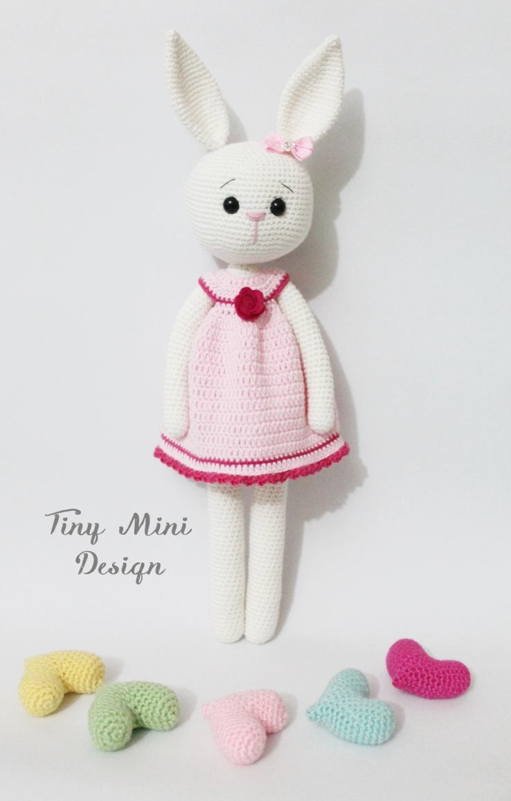 Amigurumi Cracker Girl Bunny Free Pattern- Part-1 Tiny ...