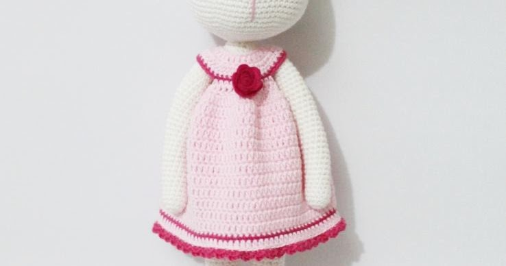 Amigurumi Cracker Girl Bunny Free Pattern-Part-3 - Tiny Mini ... | 388x738