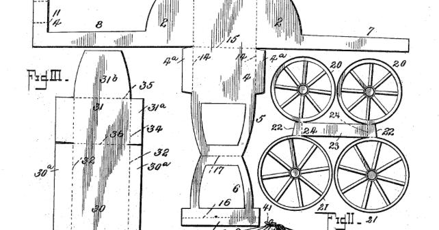 meggiecat: Papercraft Baby Carriage 1895