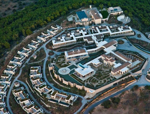 Αρχαιότητες στην ξενοδοχειακή μονάδα AMANZOE στην Ερμιονίδα