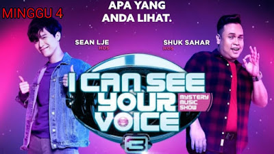 Live Streaming I Can See Your Voice Malaysia 2020 Minggu 4
