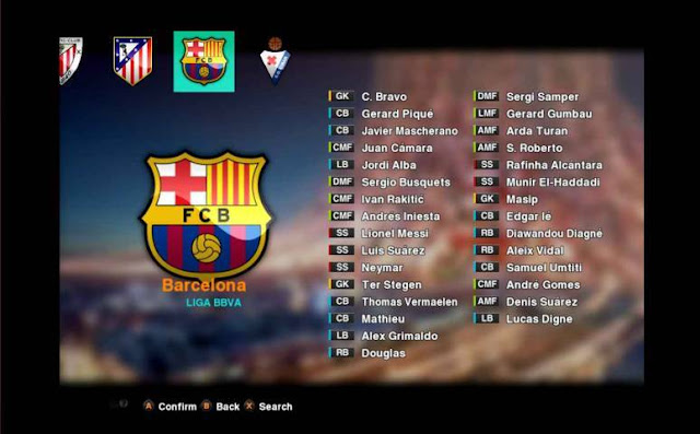 PES 2013 Option FIle PES JP Season 2016-2017
