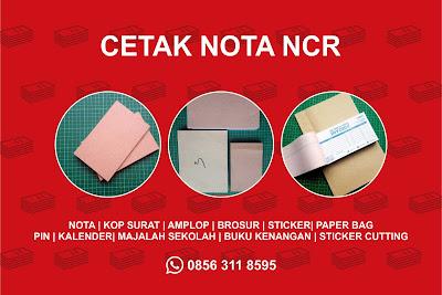 Percetakan Nota NCR