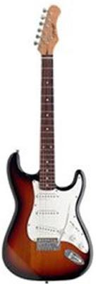 Đàn Guitar Điện Stagg S402CBK
