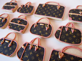 Galletas decoradas bolsos Louis Vuitton