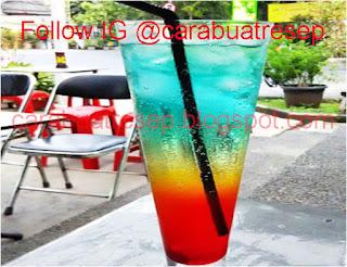 Resep Rainbow Mocktail Sederhana Spesial Asli Enak CARA MEMBUAT RAINBOW MOCKTAIL
