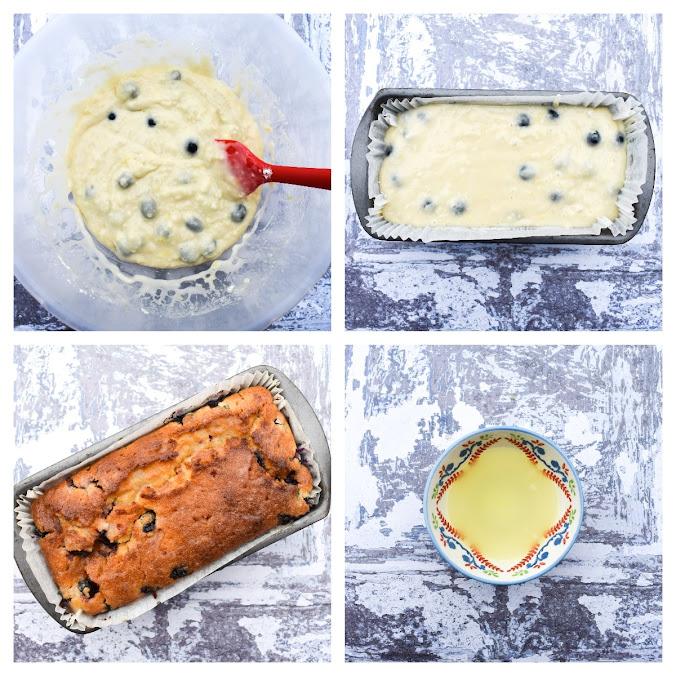 Vegan Blueberry Lemon Cake - Step 3