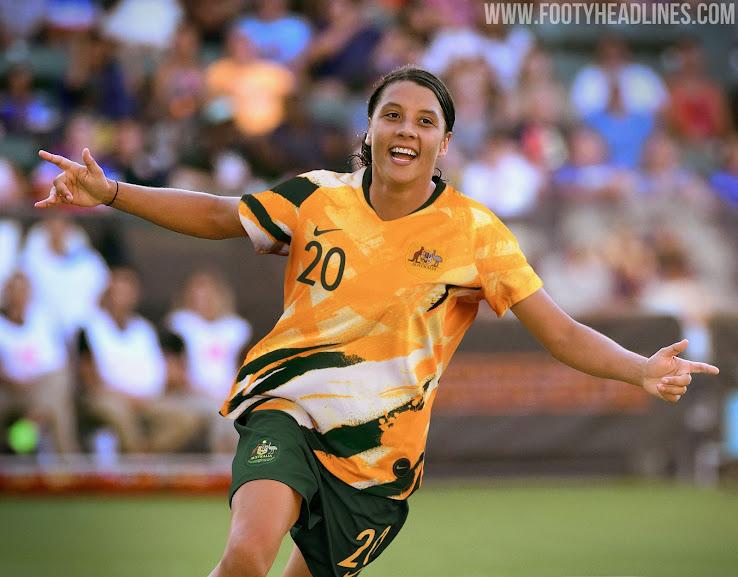 eb66e215002 Australia 2019 Women s World Cup Kit Revealed - Footy Headlines