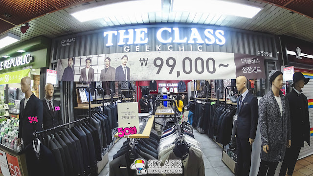 The Class Menswear at Jungang Shopping Mall