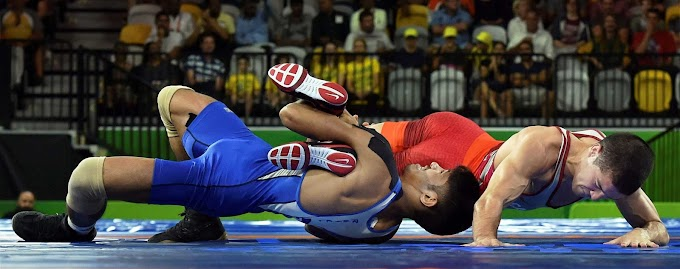 Commonwealth Games 2018 Wrestling Results, Medals