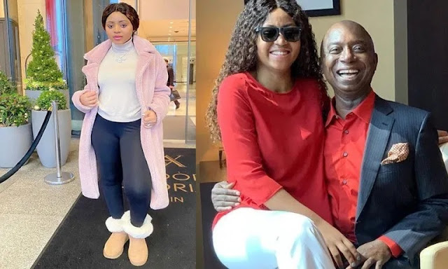 'I Heard Your Husband Is Set To Marry His 7th Wife, Congrats' - Fan To Regina Daniels