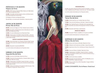 PROGRAMA OFICIAL DE LA FERIA DE FUENTES DE ANDALUCÍA 2016