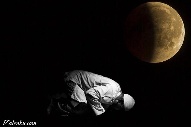 Tata Cara Sholat Gerhana Bulan !!!TERBARU !!!